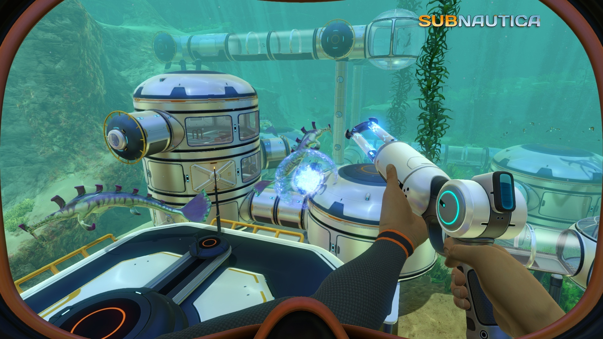 Subnautica gets a (blurry) graphics overhaul in the Eye Candy update
